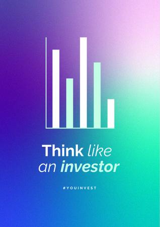 Modèle de visuel Investor mindset concept - Poster