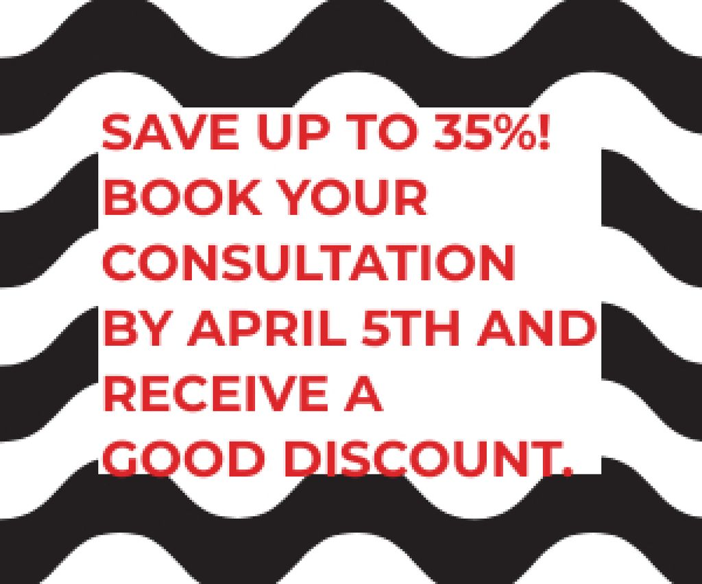 Business consultations with good discount — Create a Design