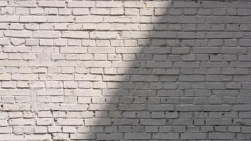 White brick wall with Shadow