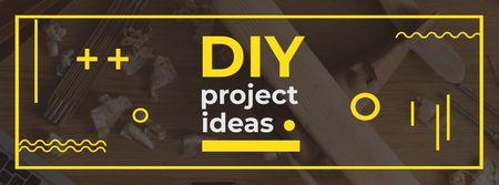 DIY Project Ideas Ad Facebook cover – шаблон для дизайна