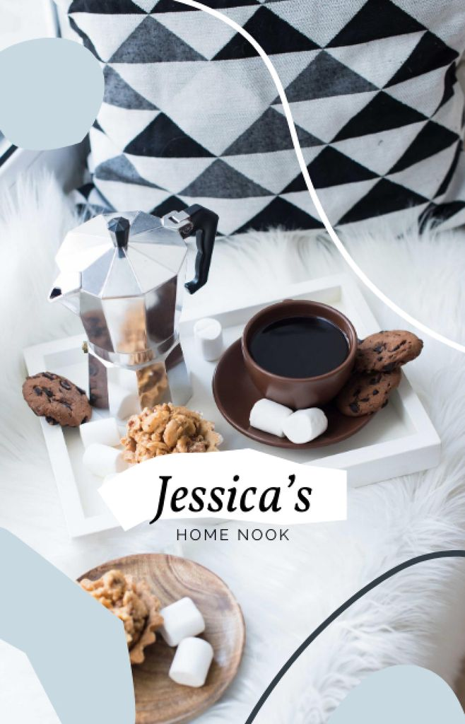 Breakfast with Coffee in Bed — Создать дизайн