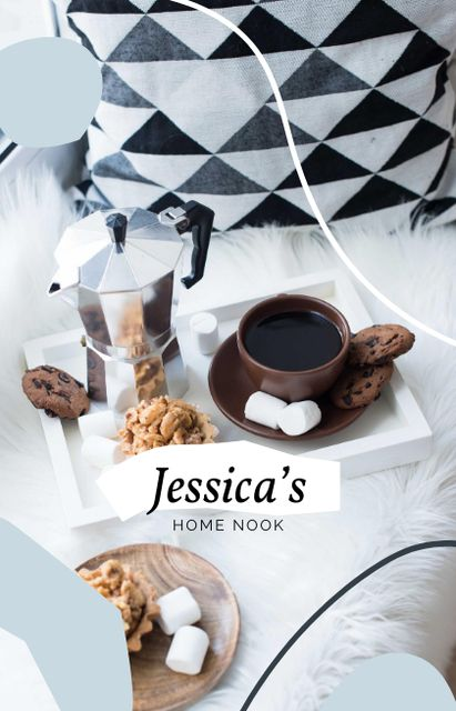 Template di design Breakfast with Coffee in Bed IGTV Cover