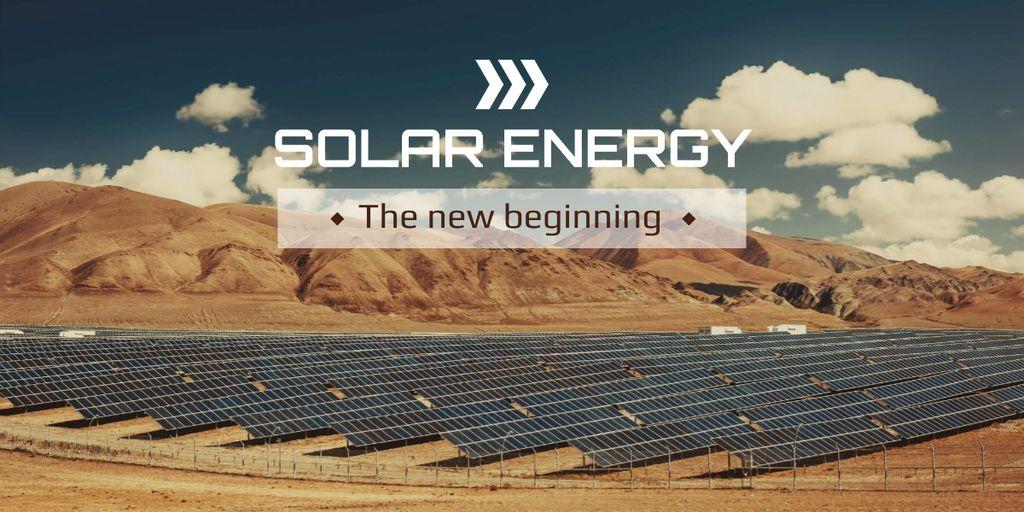 Solar energy banner — Создать дизайн