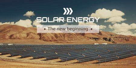 Solar energy banner Image Modelo de Design