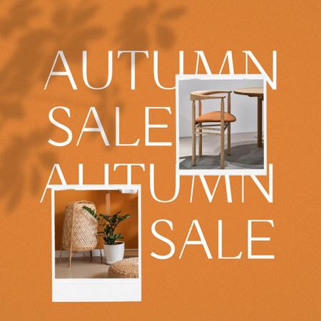 Ontwerpsjabloon van Animated Post van Autumn Sale of Stylish Furniture
