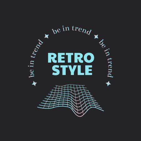 Retro Style Clothes Offer Logo – шаблон для дизайну