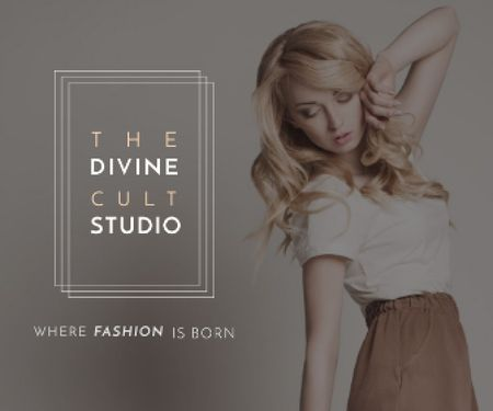 The Divine Cult Studio Large Rectangle Modelo de Design