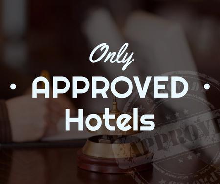 Modèle de visuel Hotels Guide Bell at Reception Desk - Facebook