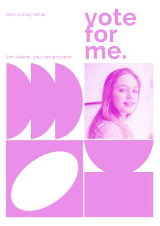 vote Poster – шаблон для дизайну