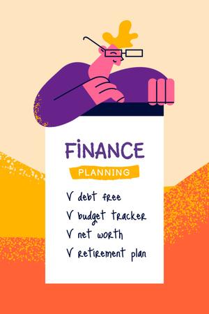 Finance Planning Tips Pinterestデザインテンプレート