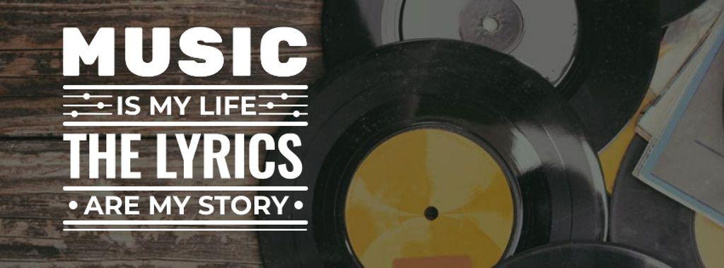 Vinyl music plates with inscription — Create a Design