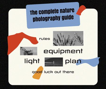 Nature Photography Guide Ad Facebook Design Template