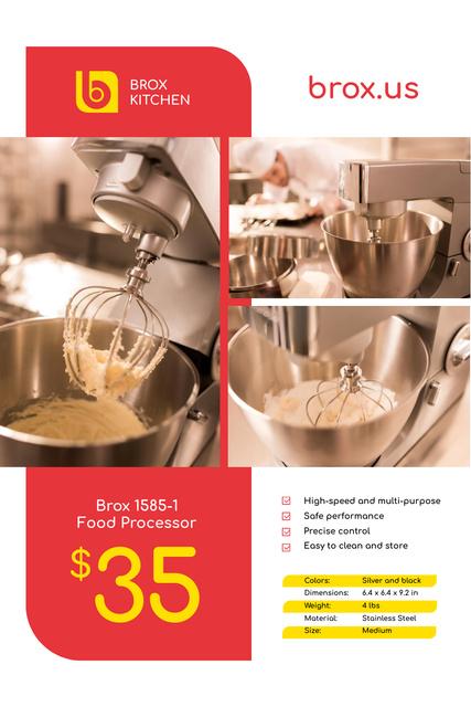Appliances Offer with Kitchen Machine Pinterest – шаблон для дизайна