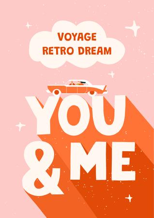 retro Poster – шаблон для дизайна