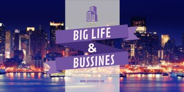 Life and business banner