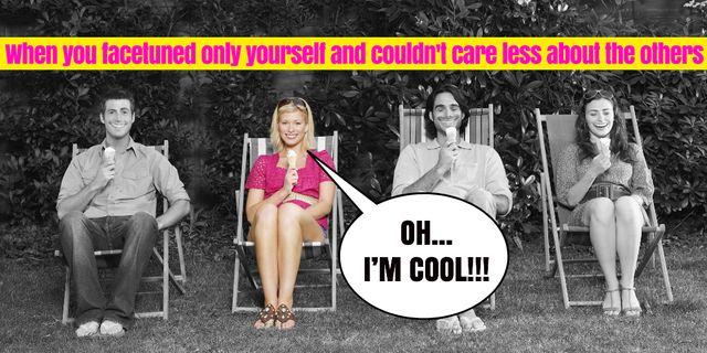 Modèle de visuel Funny Joke with Friends on Sun Loungers - Twitter