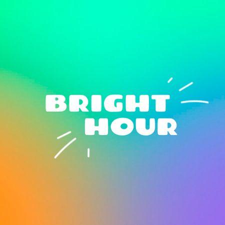 Creative Colorful Gradient Emblem Logo Modelo de Design