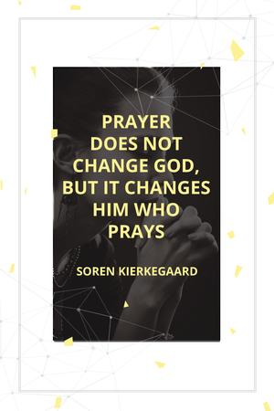 Modèle de visuel Religion citation about prayer - Pinterest