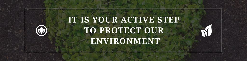 Citation about protect our environment — Створити дизайн