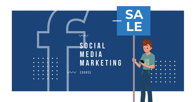 Modèle de visuel Social Media Marketing Offer - Facebook AD