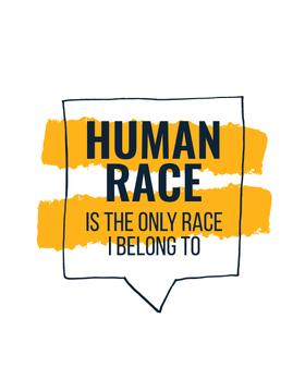 Citation about Human Race