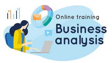 Business Analysis Courses Woman Working on Report