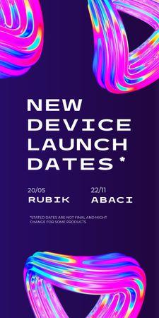 New Device Launch Announcement Graphic – шаблон для дизайна
