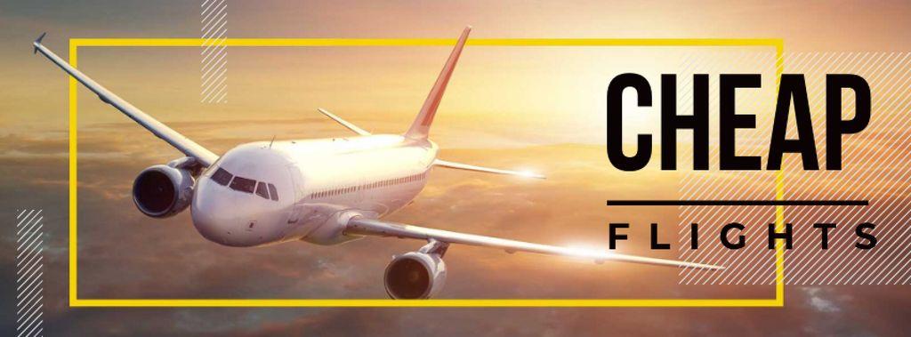 Cheap flights advertisement — Создать дизайн