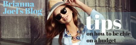 Brianna Joel's Blog Twitter – шаблон для дизайна