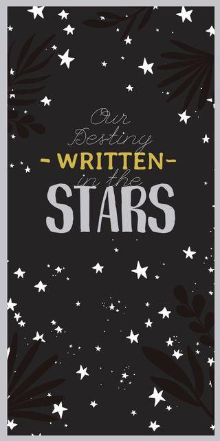 Ontwerpsjabloon van Graphic van Astrology Inspiration with Cute Stars