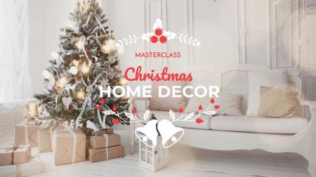 Christmas Home Decor Offer FB event cover Modelo de Design