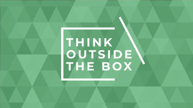 Inspirational citation with green triangles Youtube Modelo de Design