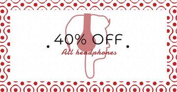 Headphones Discount Sale Offer