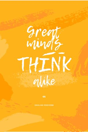 Inspirational Quote on Yellow Pattern Tumblr Design Template