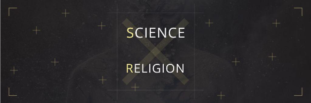 Citation about science and religion — Créer un visuel