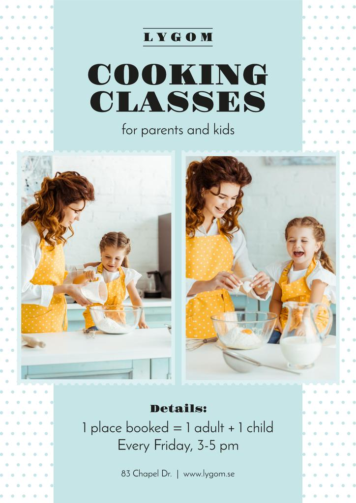 Cooking Classes with Mother and Daughter in Kitchen — Crea un design
