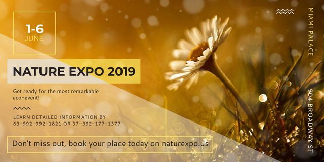 Nature Expo 2019 Image Modelo de Design