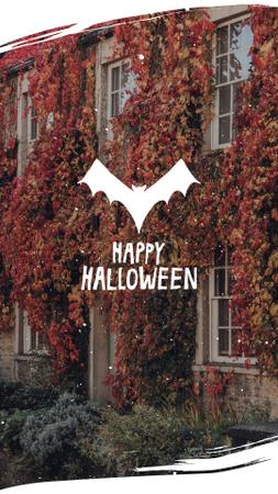 Halloween Inspiration with Bat's Silhouette Instagram Story – шаблон для дизайна