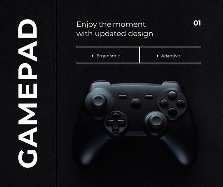 Designvorlage New app Design Ad with VR console für Facebook