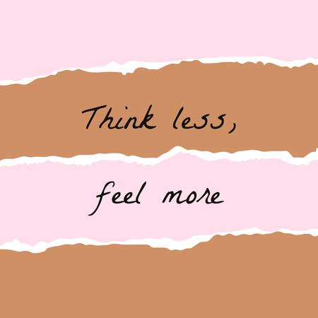 Motivational Quote on torn paper Instagram tervezősablon