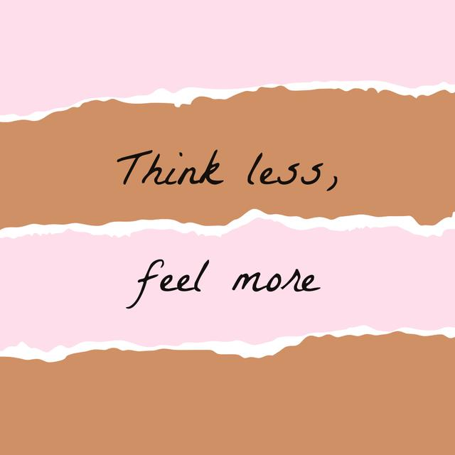 Motivational Quote on torn paper Instagram – шаблон для дизайну