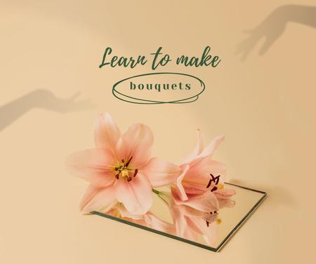 Modèle de visuel Bouquets Making Offer with Tender Flowers - Facebook