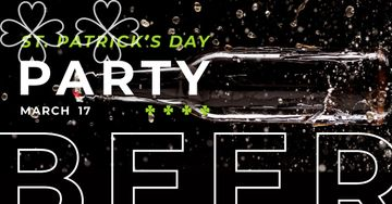 Invitation to Beer Party on St. Patricks Day