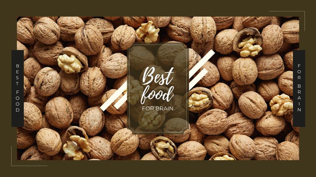 Whole walnuts in shell — Modelo de projeto