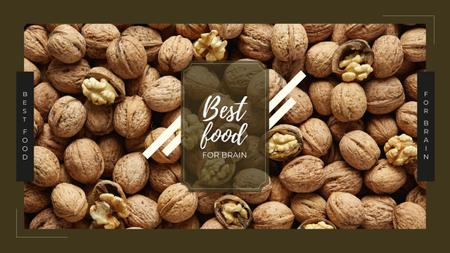 Modèle de visuel Whole walnuts in shell - Youtube