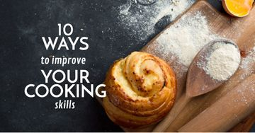 Improving Cooking Skills with freshly baked bun