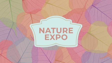 Nature Expo Annoucement Youtube – шаблон для дизайну
