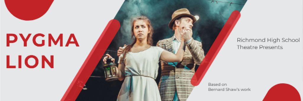 Pygmalion performance in Richmond High Theater — Crear un diseño