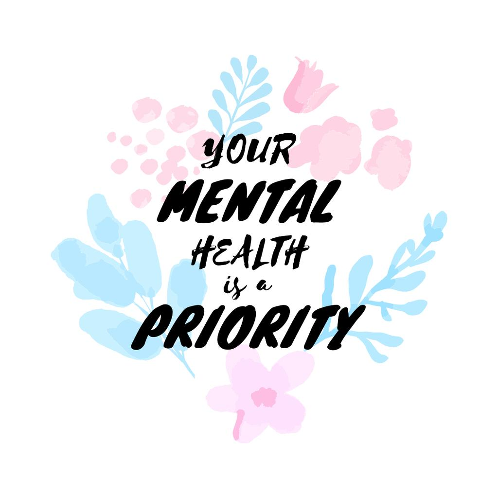Mental Health care quote — Створити дизайн