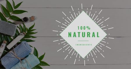 Natural and Organic Products Offer Facebook AD Tasarım Şablonu